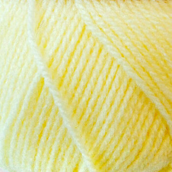 Super Soft Yarn - Baby DK -  Pastel Yellow BB2 (100g)