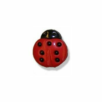 Ladybird Button - 24 lignes/15mm