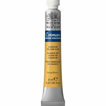 Winsor & Newton Cotman Watercolour Tube - Cadmium Yellow Hue (8ml)
