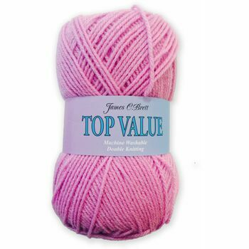 Top Value Yarn - Pink - 8447 (100g)