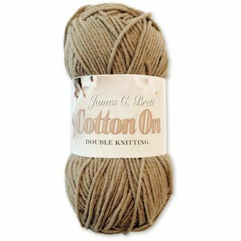Cotton On Yarn - Brown  CO4 (50g)