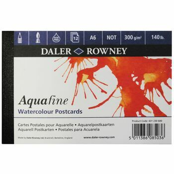 Daler Rowney Aquafine Watercolour Postcards (A6)