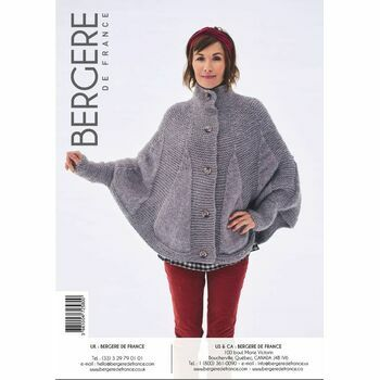 Cat. 16/17 - #319 Poncho cape