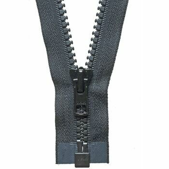 YKK Vislon Heavyweight Open End Zip - Black (66cm)