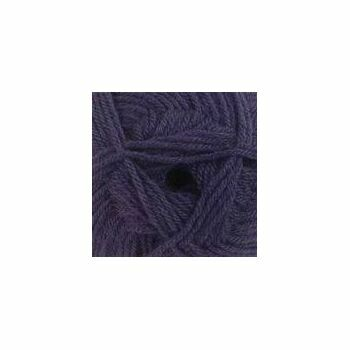 James C Brett DK With Merino - Aubergine Purple - DM13 (100g)