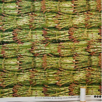 Cook Asparagus by The Henley Studio: 100% Cotton
