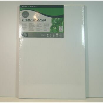 Daler Rowney Simply Stretched Canvas (A3)