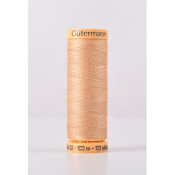 Natural Cotton Thread: 100m: Col. 1037