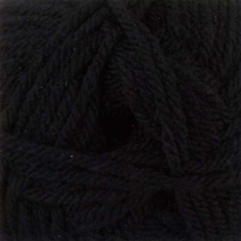 Chunky with Merino Yarn - Black - CM2 (100g)